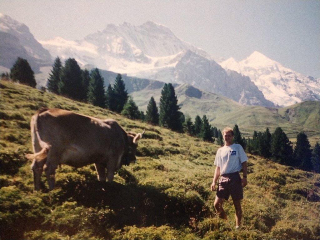 Monika & Patrick meet in Switzerland in the summer of 1994.