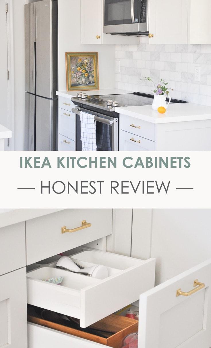 Kitchen Tour Part 1 Ikea Kitchen Cabinets Honest Review