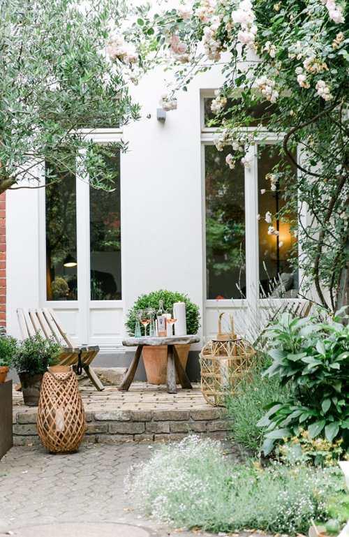 Gardens Of My Dreams Romantic Backyard Garden Ideas Hydrangea