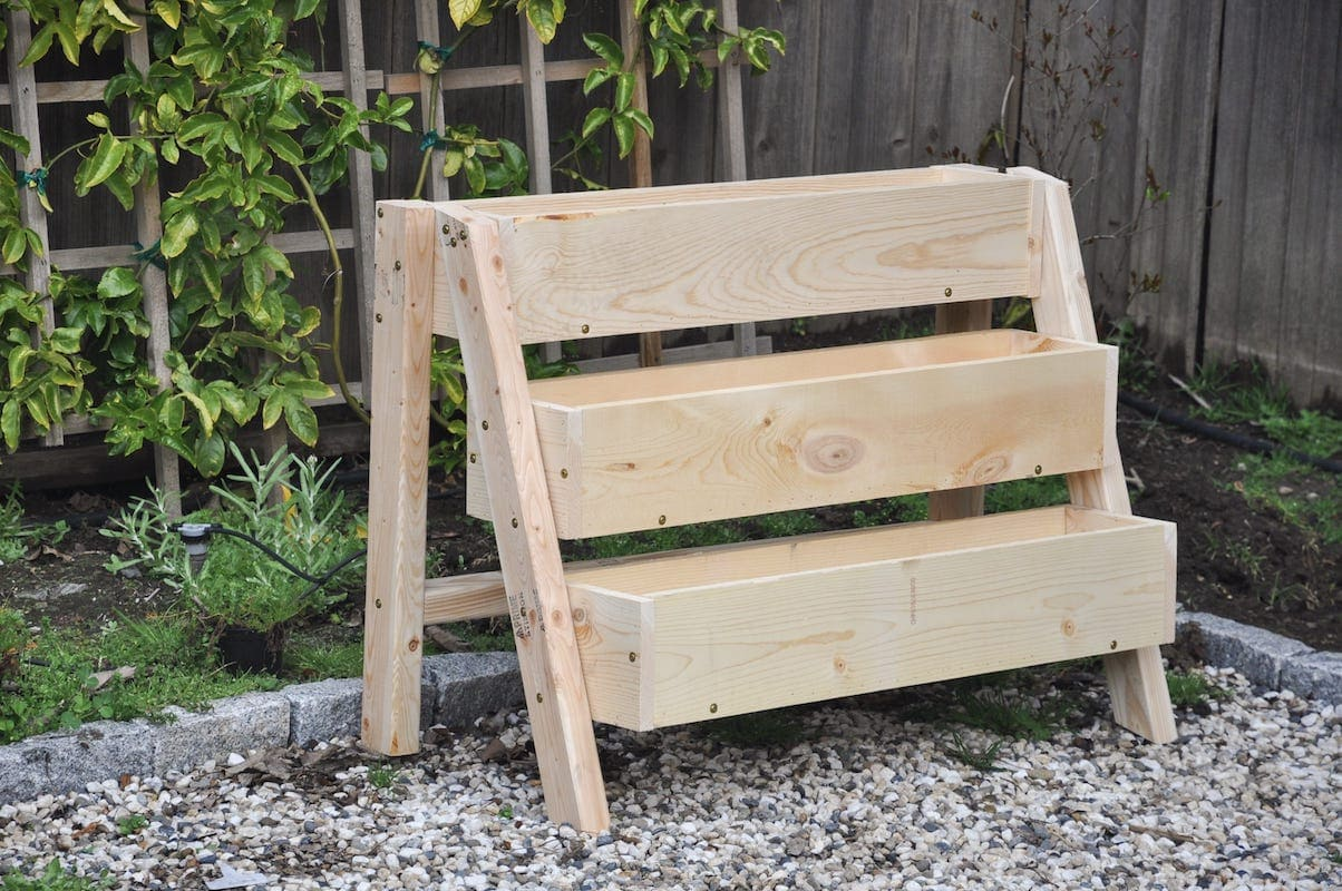 Super Diy Tiered Strawberry Planter Vertical Garden Ideas Caraccident5 Cool Chair Designs And Ideas Caraccident5Info
