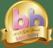 Gold Award Bizzie Baby 2018