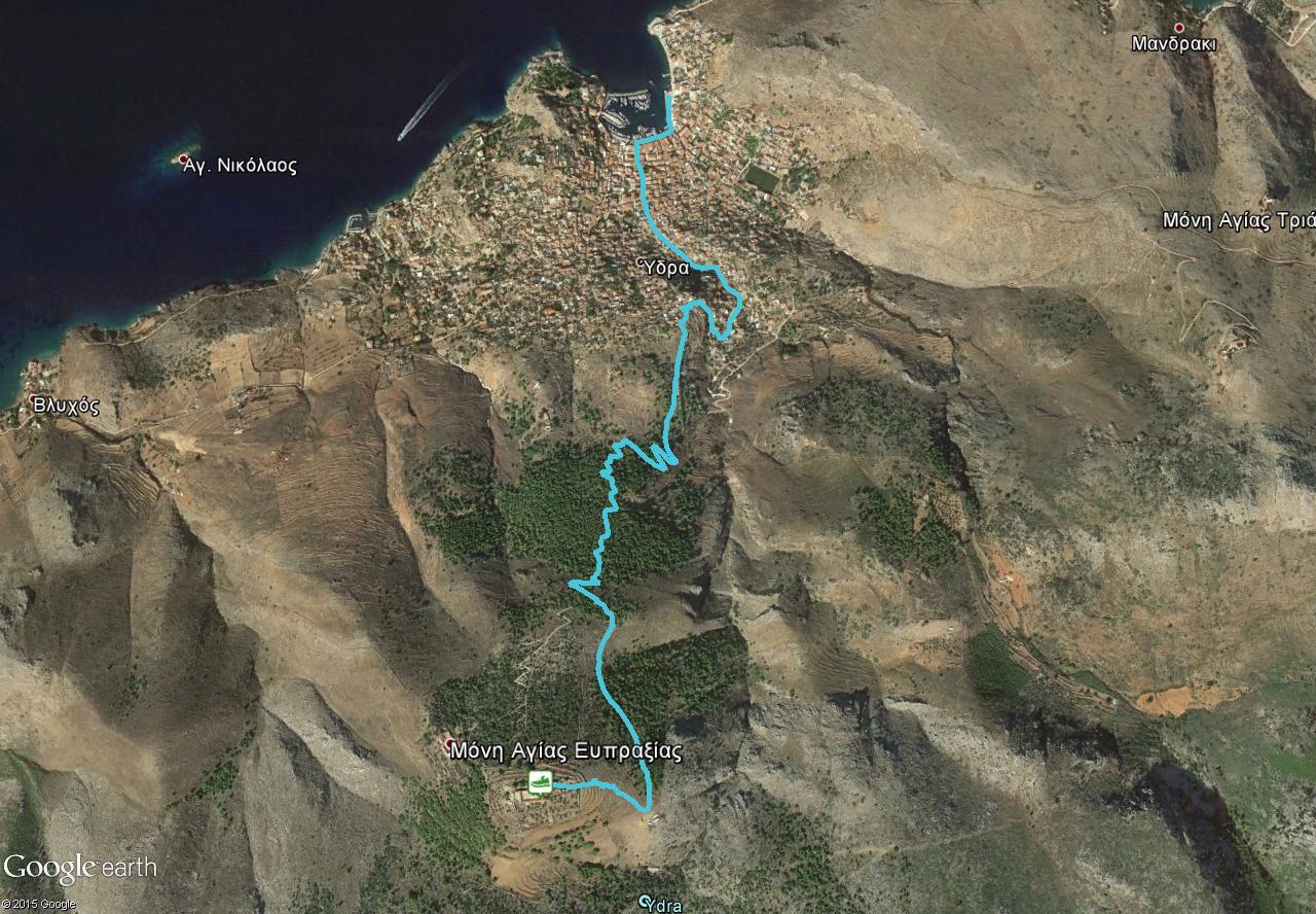 Downhill trail Hydra