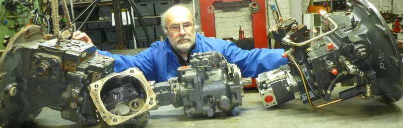 komatsu revision pompe hydraulique