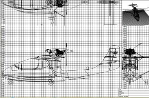 croquis plan prototype CALAMALO II
