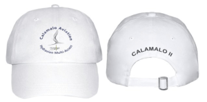 casquette calamalo aviation blanche
