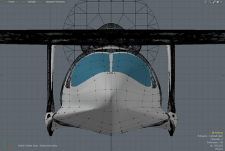 Morgann bi-beam front view for CALAMALO Aviation