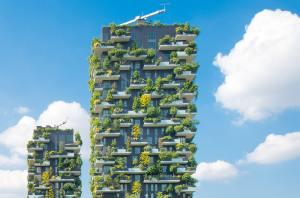 Construction Vertical gardens Milan
