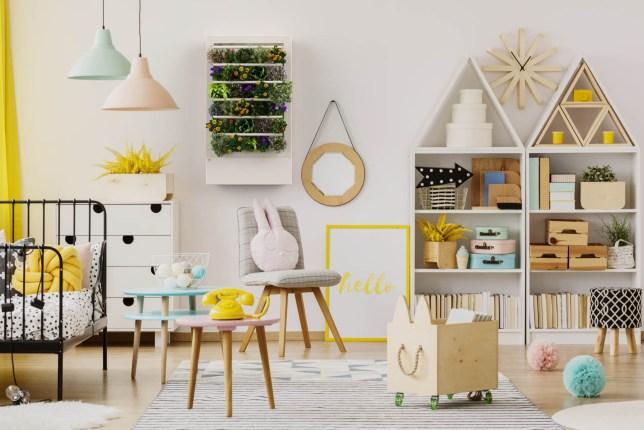 Smart Indoor Garden Children's room