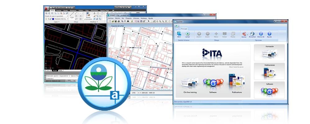 EPACAD : Convertir un dessin AutoCAD vers un fichier EPANET
