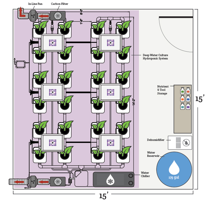 Choosing A Location For An Indoor Grow Room Hydrobuilder Learning Center