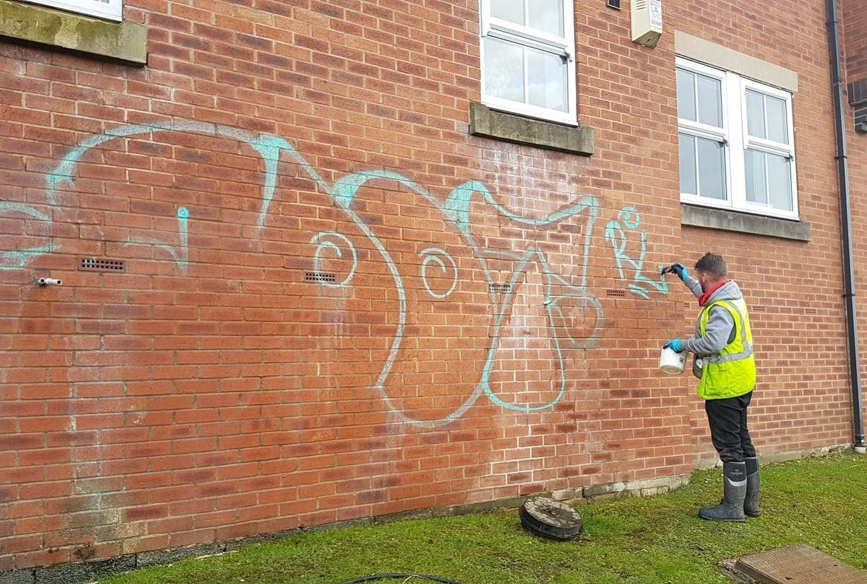 Graffiti removal specialists