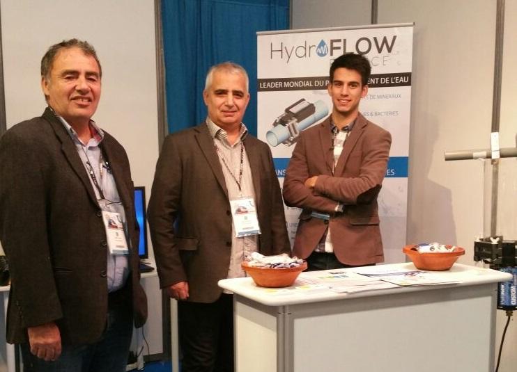 HydroFLOW France au SETT 2017 de Montpellier, c'est parti avec Voltalux !