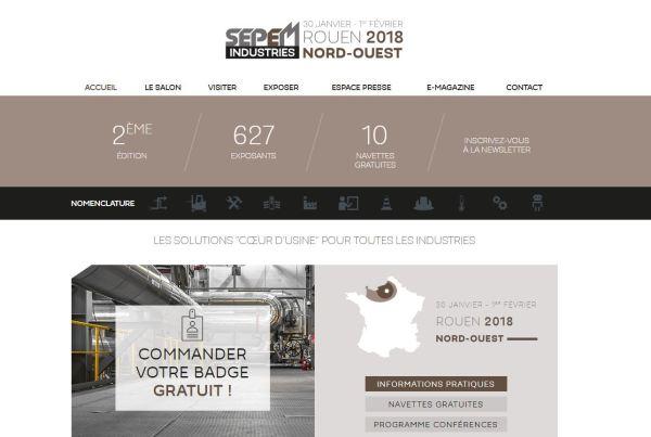 HydroFLOW France au SEPEM Industrie ROUEN 2018, avecGéoEnergies & Aquaevision!