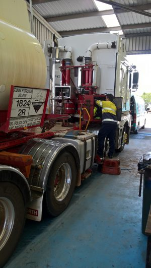 Twin Gen 20 hydrogenfuelsystems in STAINLESS steel mounted on coogee chemicals truck