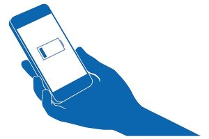 Phone flat battery