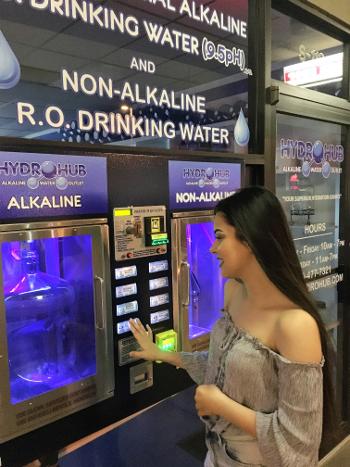 image of water dispenser Tucson