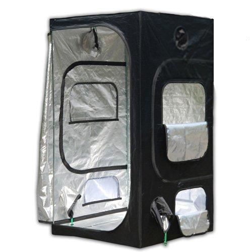 Oasis 3 x 3 Reflective Hydroponic Light Proof Grow Tent 0 - Oasis 3u0027 x  sc 1 st  Online Hydroponics Store & Helios 48