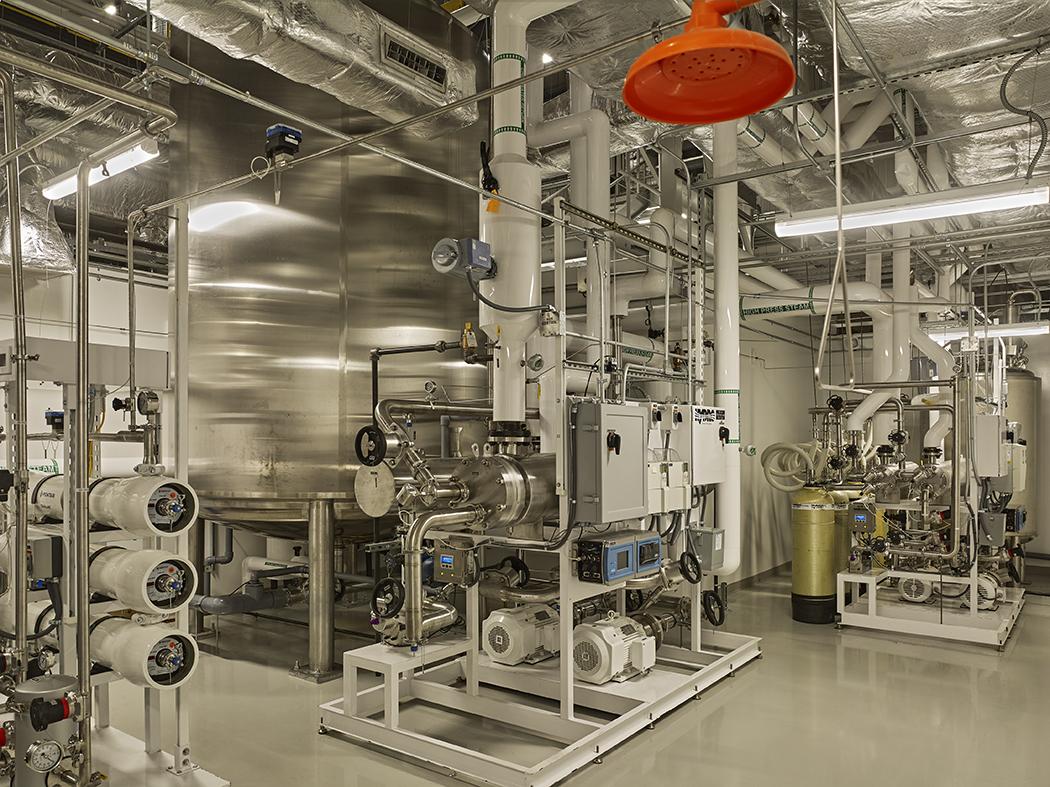 Mayne Pharma - Clean Water Generation Room