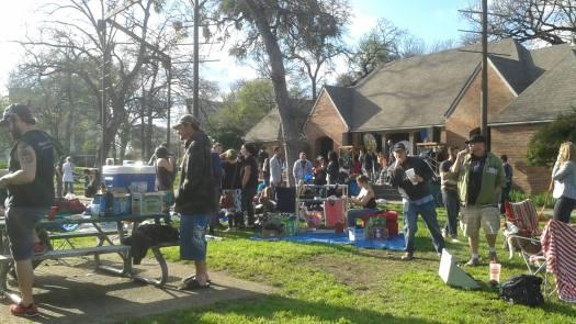 Trinity Park March 22, 2015