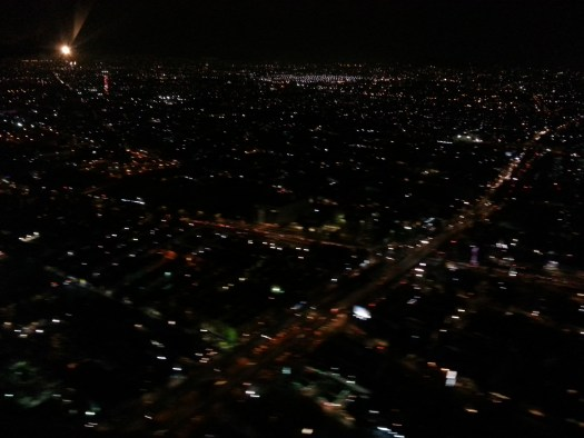 Landing in Mexico City