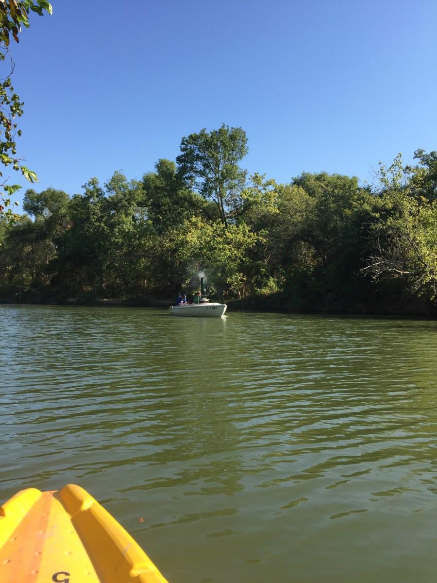 A real steam boatie on White Rock Creek