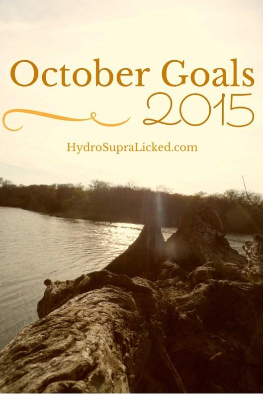 October 2015 Goals