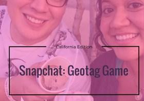 Snapchat: Geotag Game – California, USA