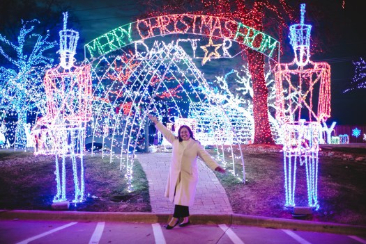 Entrance to Christmas Town