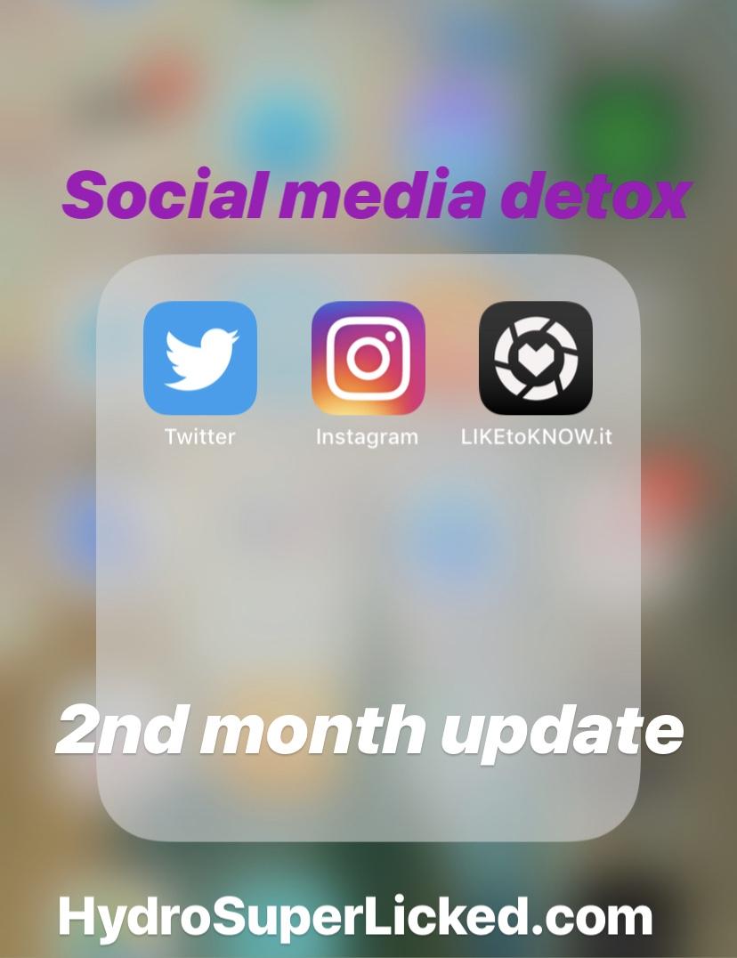 Social media detox Second Month