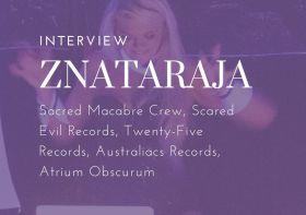 DJ Interview: Znataraja Sacred Macabre Crew Scared Evil Records Twenty-Five Records Australiacs Records Atrium Obscurum