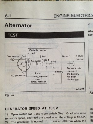 1985 Subaru GL wagon Alternator Wiring Diagram  Old Gen: 80's GLDLXTLoyales  Ultimate