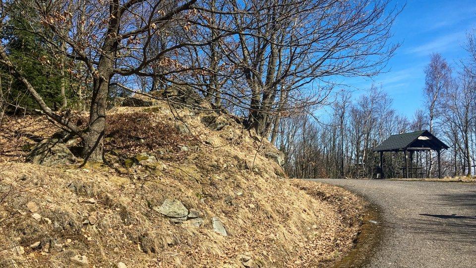 Dušanova skalní vyhlídka
