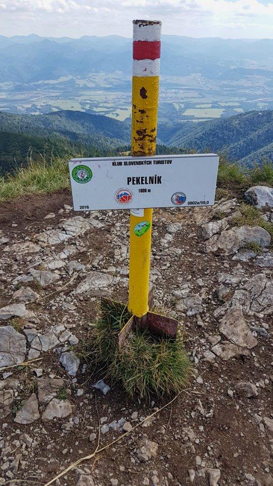 vrcholovka -Pekelník