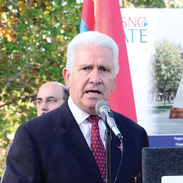 Groundbreaking for Armenian Genocide Monument Attracts ...