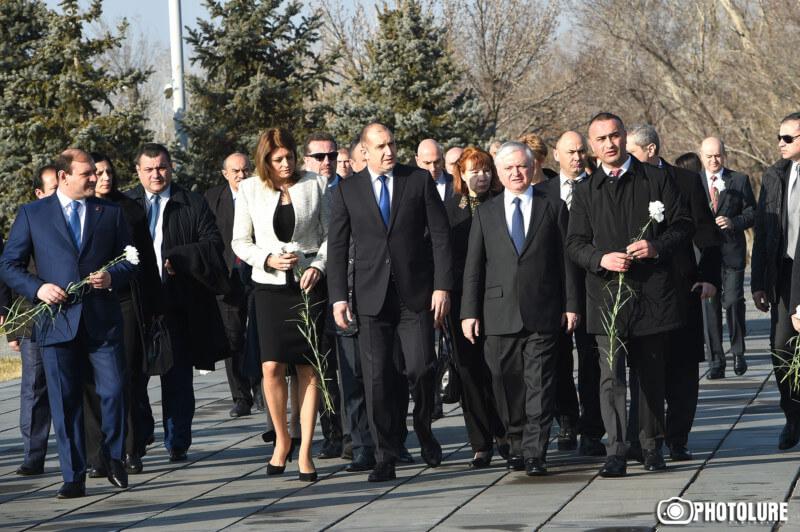Bulgaria-President-Tsitsernakaberd-2