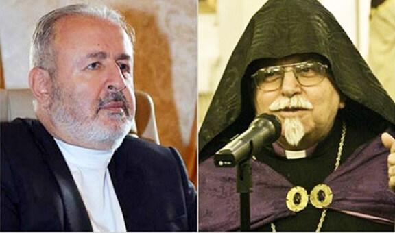 Archbishop Aram Ateshian (left) has been creating obstacles for Istanbul Patriarchate Lcoum Tenens Archbishop Karekin Bekdjian (right)
