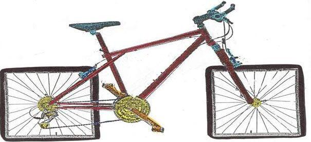 square-wheel