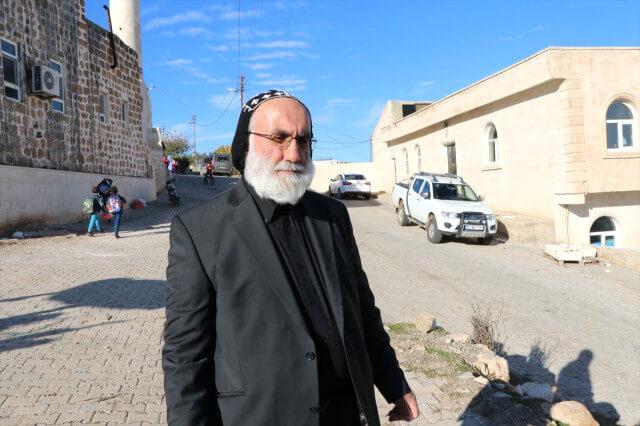 Mor Aho Manastırı rahibi Edip Daniel Savcı