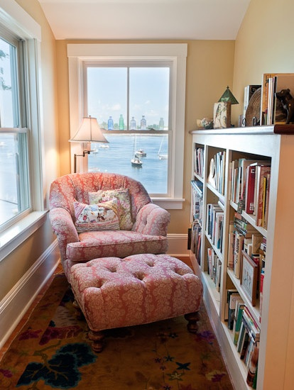 hygge reading nook
