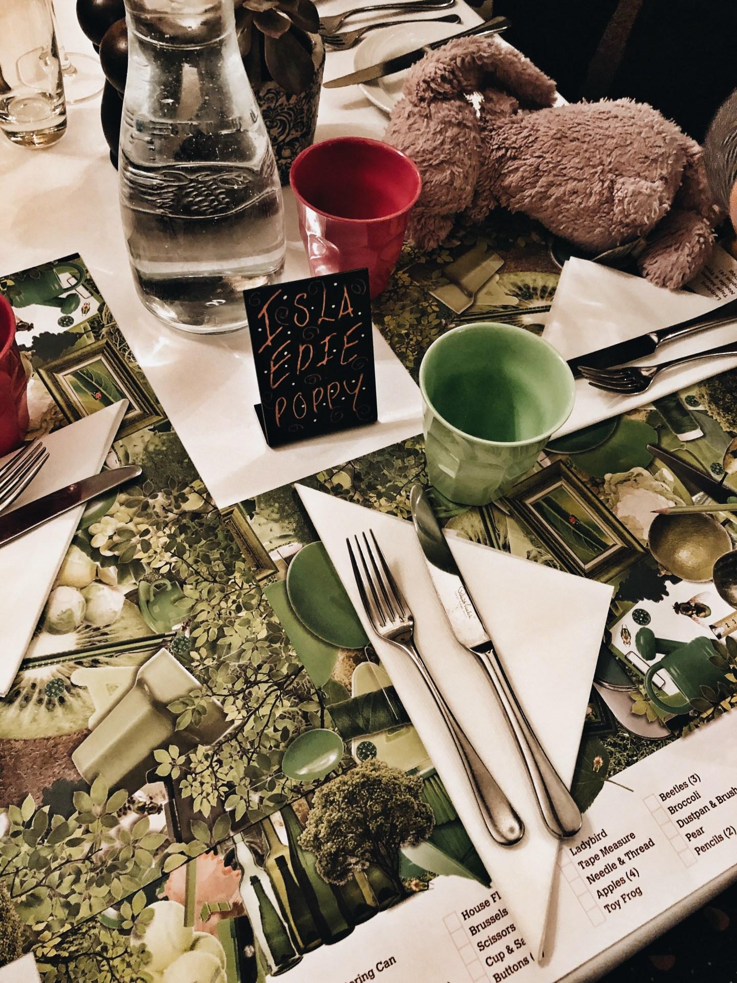 Dinner time hygge family travel