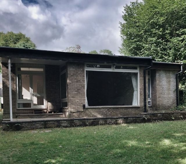 Rear of our 1960's bungalow