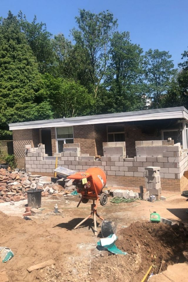 Building work renovation