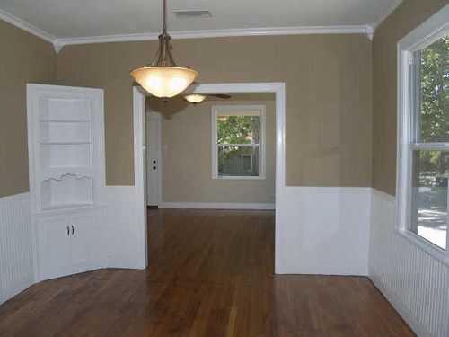 Dining room looking to living room