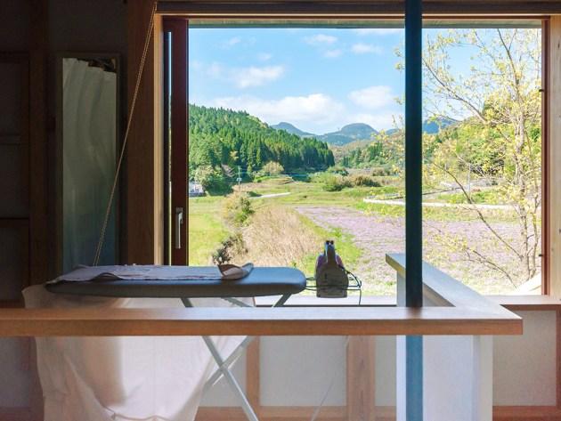 心地いい窓辺は家事をやりたくさせてくれる。