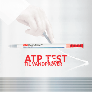 3M CleanTrace ATP vandtest