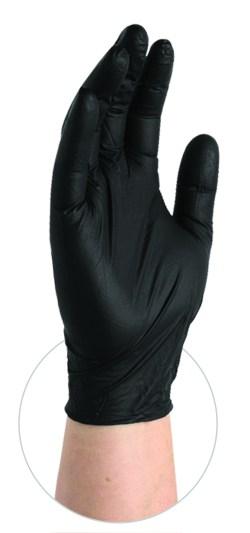 BX3 Black Nitrile Gloves