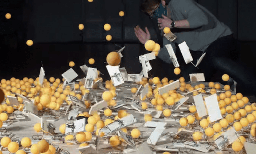Visualizing Herd Immunity with 500 Mousetraps