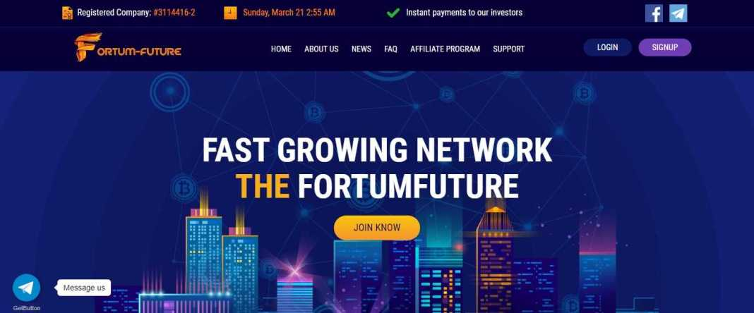 Fortum-future.com Review: It Is Scam Or Paying? Read Our Review
