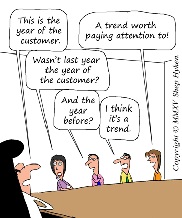 Trend - The Year of the Customer