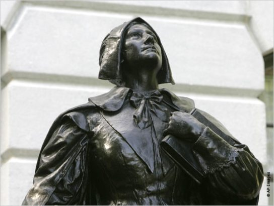 Anne Hutchinson was one of the most prominent women in colonial America, noted for her strong religious convictions and for her stand against the staunch religious orthodoxy of 17th century Massachusetts.